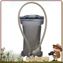 Hydrapak, volume utile de 2 Litres ultra légère et robuste pour votre sac à dos armée