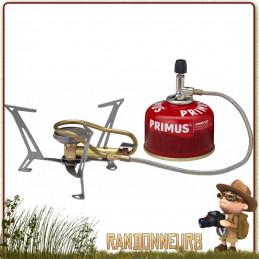 Réchaud EXPRESS SPIDER II Primus multi combustible gaz et essence