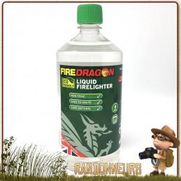 gel éthanol DragonFire BCB à base d\'éthanol haut pouvoir énergétique allume feu ou bien combustible pour votre réchaud