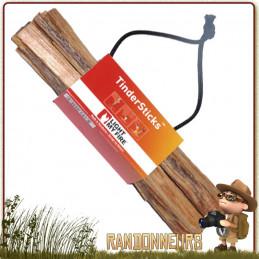 TinderSticks MayaSticks Light My Fire bâtonnets de pin résineux permettant l'allumage rapide de votre feu de camp bushcraft