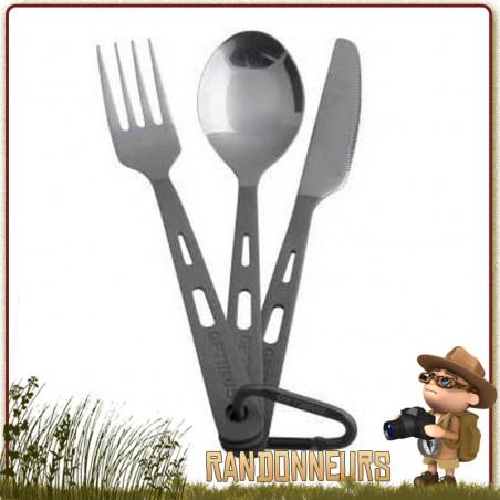 STRIKEFIRE titane Ti fourchette 0 Couteau Fourchette Cuillère Outils Multifonction