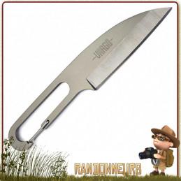 Couteau ultra léger et non moins robuste, le couteau Titane Wharn de Vargo est un couteau très tranchant