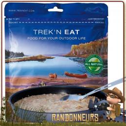 repas lyophilisé végétarien de randonnée Poêlée de Pommes de Terre aux Oignons Trek'n Eat