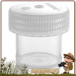 Boite de Stockage Jar 60ml Nalgene Polypropylène pour le transport et le stockage aliments, produits cosmétiques