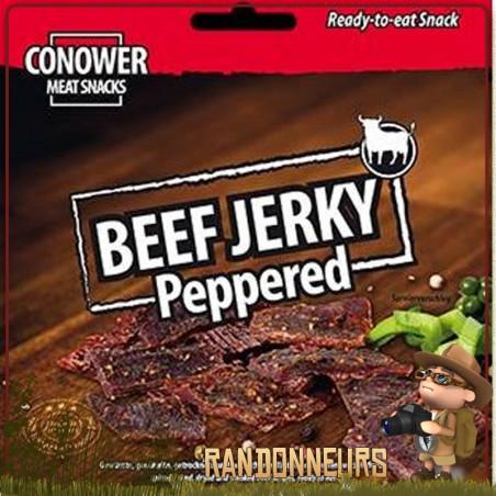 Viande de Boeuf séchée Beef Jerky au poivre Conower