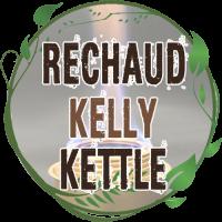 bouilloire réchaud bois kelly kettle trekker inox bushcraft base camp