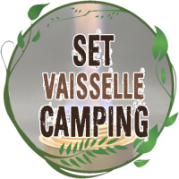 Set Vaisselle Camping