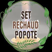Set Réchaud Popote