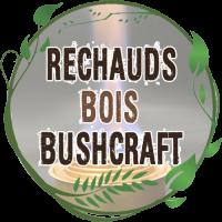 Réchaud Bushcraft bois double paroi solo stove titane léger toaks vargo