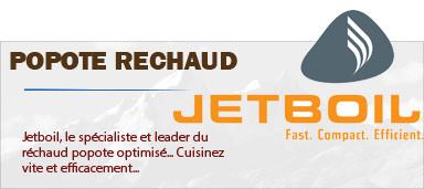 Réchauds popotes Optimisés Jetboil