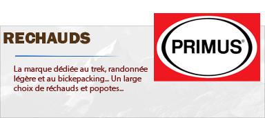 Popotes et Réchaud ultra légers Primus