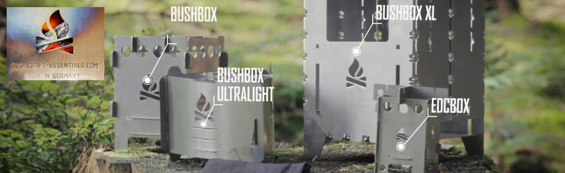 Réchaud à bois Bushbox de Bushcraft Essentials